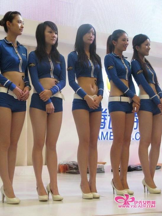 2010上海cj展 跟着伊秀小编来看看cj展美女如何演绎