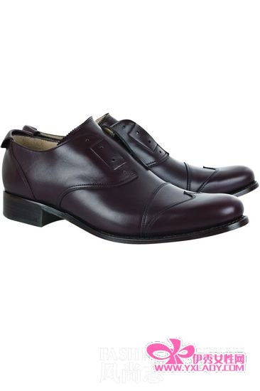 女人穿皮鞋精致又时髦(9)