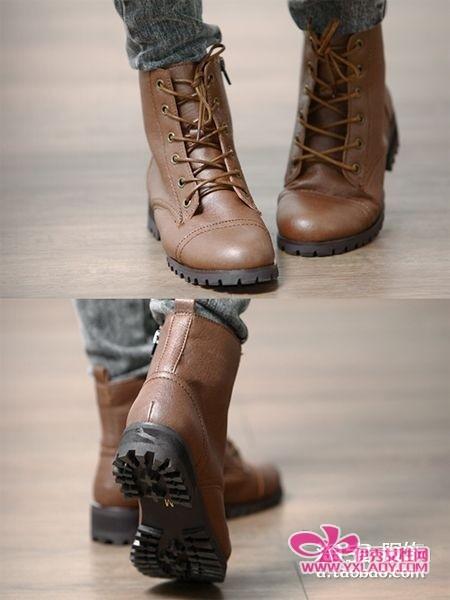 韩国 高跟靴/厚底高跟靴 韩国知性小资妞最爱