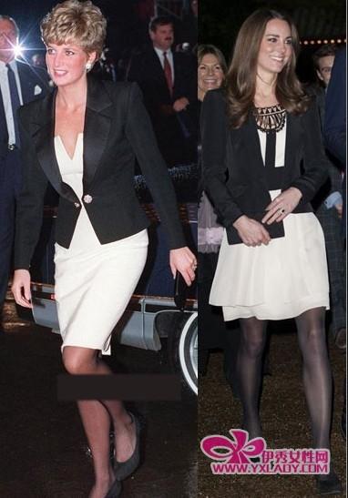 致敬戴安娜英国准凯特王妃范儿渐浓