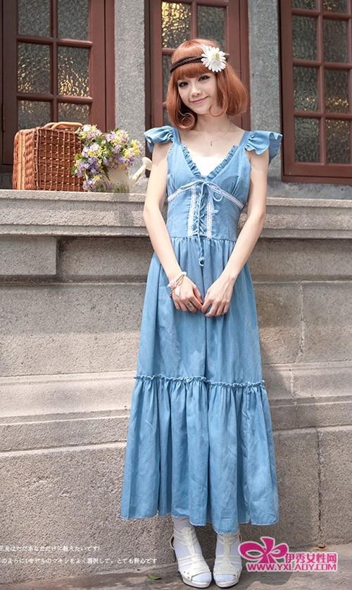 【图】连衣裙款式_连衣裙款式图
