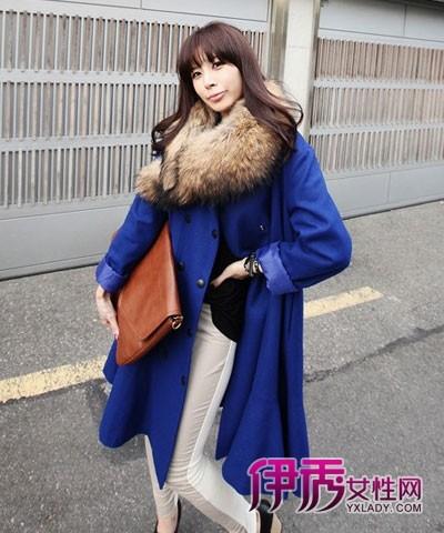 【图】冬天大衣加条围巾