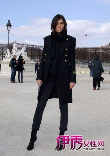 【欧美街拍】黑色外套不沉闷