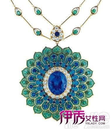 珠宝 珠光 丽影/项链/Tiffany&Co。