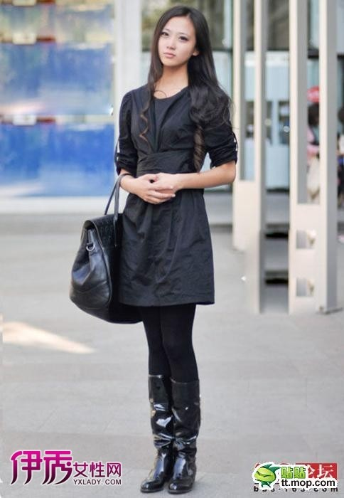 哈尔滨美女街拍 海量美颜美腿精品图片