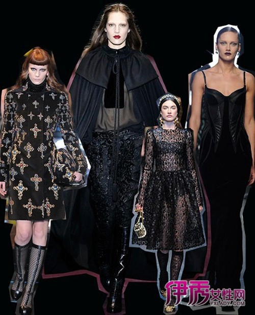 米兰/2012秋冬米兰国际时装周,小编为你大总结时装秀场上精彩亮点。