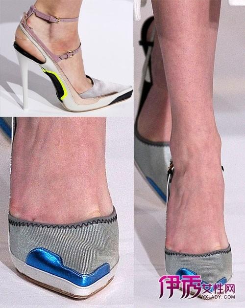 sander2012秋冬时装秀鞋子细节
