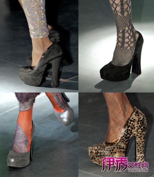 westwood2012秋冬女装秀上的新款鞋履