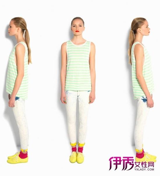 荧光色夏季服装搭配