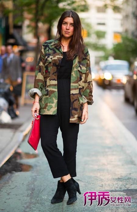 【欧美街拍】街拍纽约长腿美女