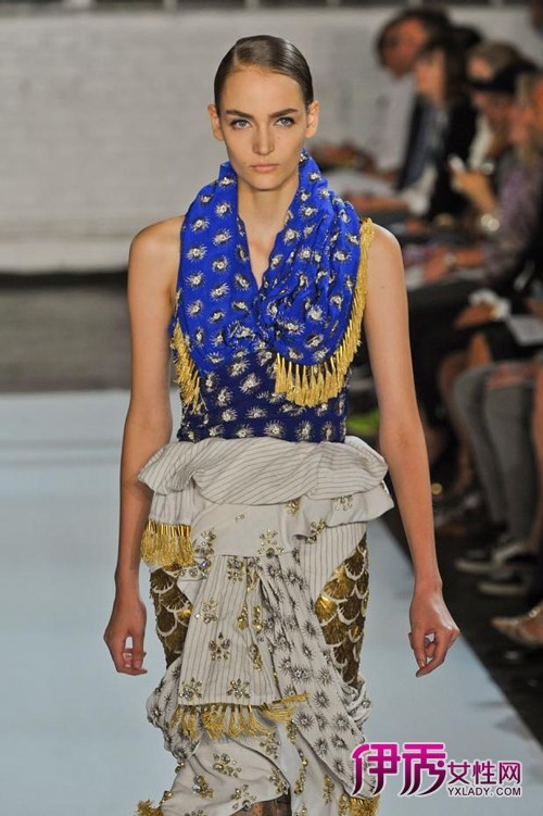 【图集】围巾的各种围法
