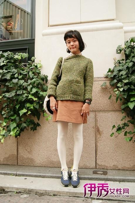 【图集】【日本街拍】日本街头美女不畏严寒丝袜秀