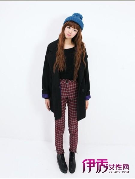 【冬季服装搭配】矮个子女大衣短靴搭配增高变长腿-矮个子女大衣短