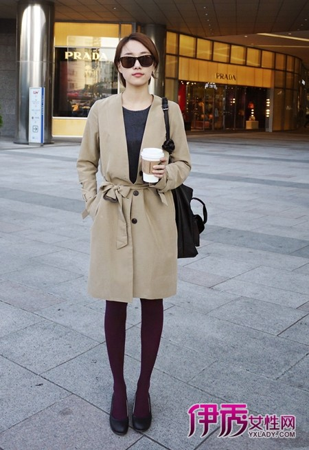 【韩国街拍】小个子女生冬季穿衣
