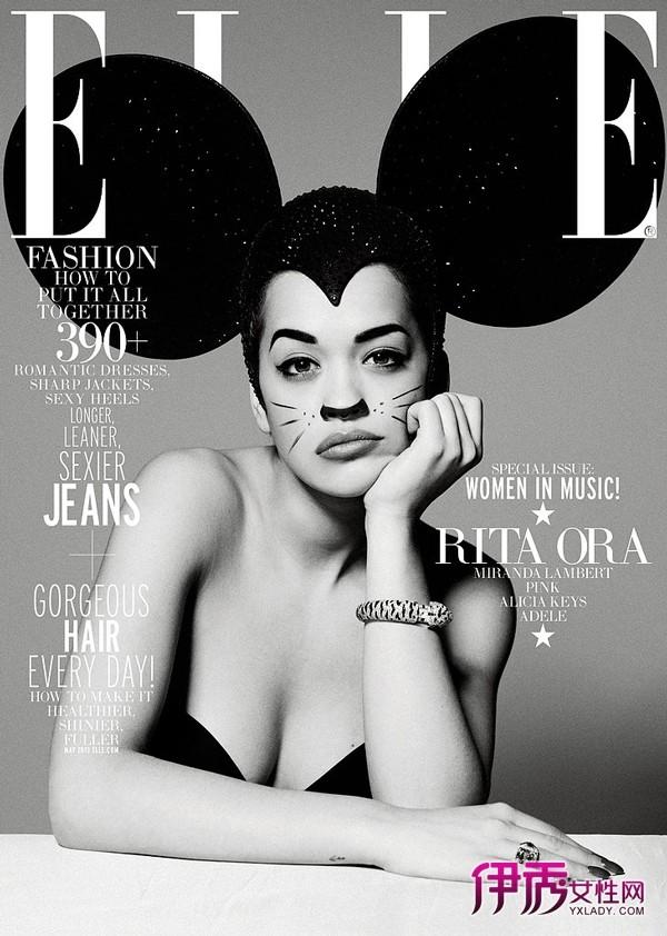 欧美时尚杂志封面美照大