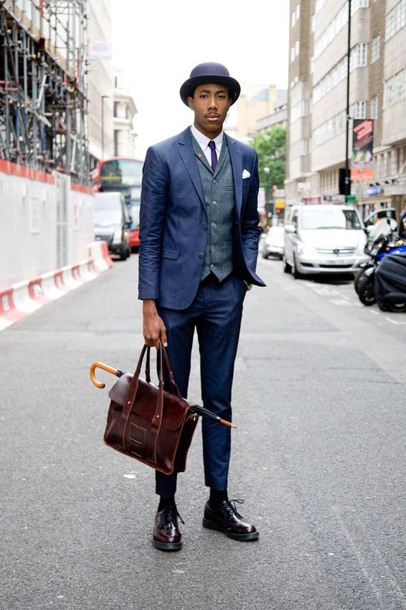 【图集】【欧美街拍】伦敦男装周看络腮胡熟男怎么穿