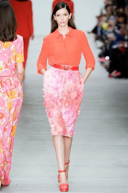 服装设计师品牌Matthew Williamson 2014春夏女装系列