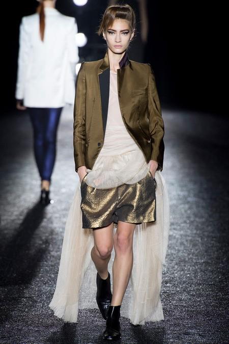 服装设计师品牌Haider Ackermann 2014春夏女装系列