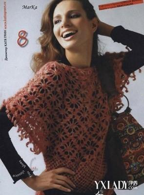 十款流行编织毛衣图案花样欣赏