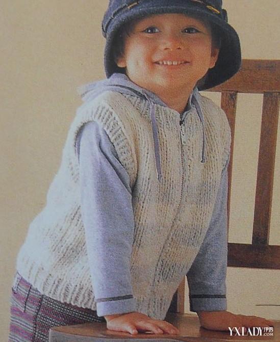 儿童毛衣编织花样—两款男孩儿毛衣套装