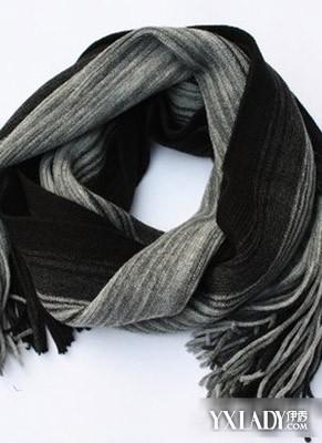 简单易学的时尚男士围巾织法大全图解