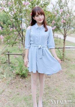 氧气美女韩范秋装搭配图片(6)