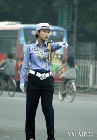 【图】西安美女交警的一天