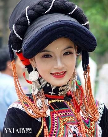 【图】彝族美女掀最炫民族风
