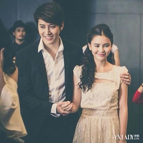 泰国版浪漫满屋mike李海娜中国首秀 二人可爱造型天生一对图片