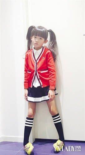 [图]爸爸去哪儿第二季贝儿陆雨萱街拍秋季儿童穿衣搭配法