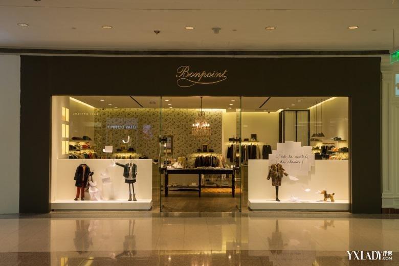 法国童装品牌bonpoint上海恒隆店重装开幕