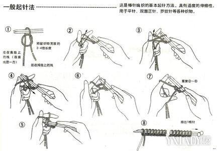 【图】织围脖的教程 一分钟教会你怎么织围脖
