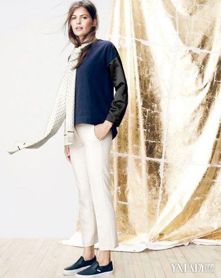 服装品牌J. Crew 12月全新女装搭配系列