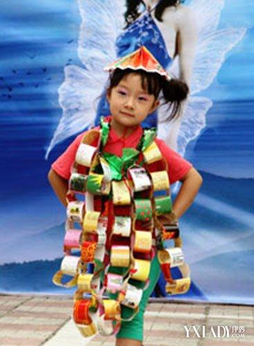【图】幼儿园环保服装秀 环保时装秀摄影图片