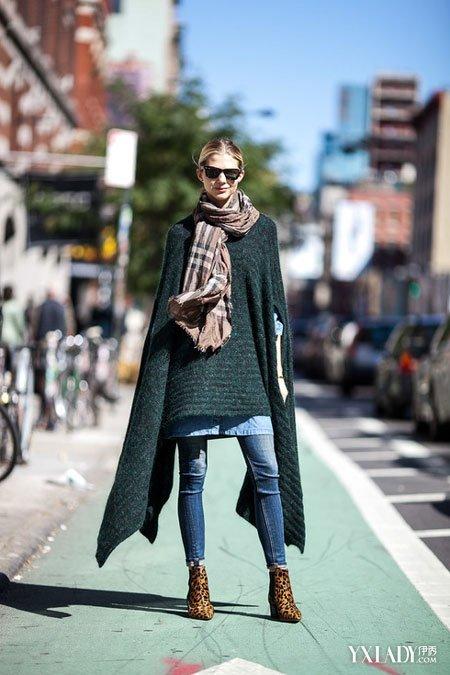 【欧美时尚街拍】穿对外套女装很加分