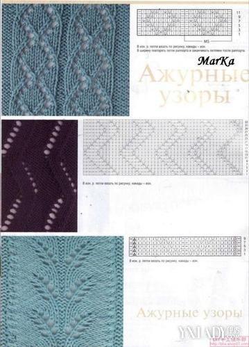 【图】毛衣编织花样大全图