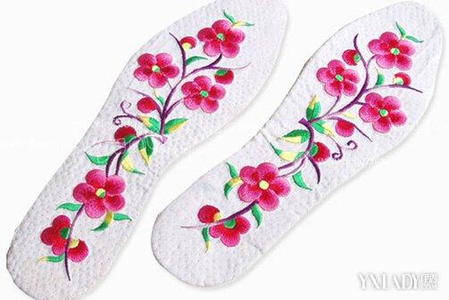 最新鞋垫格子花样图 小动物