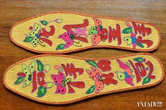 【图】鞋垫花样图案大全 花鞋垫做法