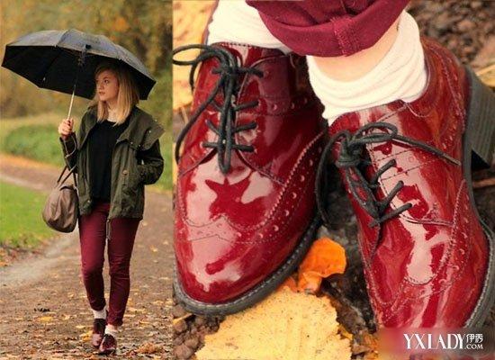 【图】红鞋子搭配 艳丽红鞋子怎样穿出复古风情图片