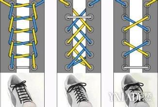 【图】鞋带的24种系法大全 单手系法 十字交叉图片
