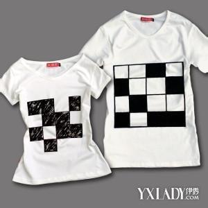 【图】情侣手绘t恤 几招技能教你手绘空白t恤
