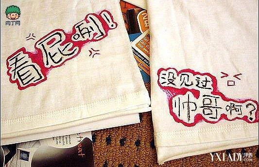 【图】情侣t恤衫手绘 情侣t恤衫手绘t恤创意图案