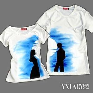 【图】手绘情侣t恤图片 如何手绘情侣t恤