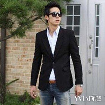 男士韩版西装搭配 韩版帅气街头风小西装,韩版西装有哪些品牌大全