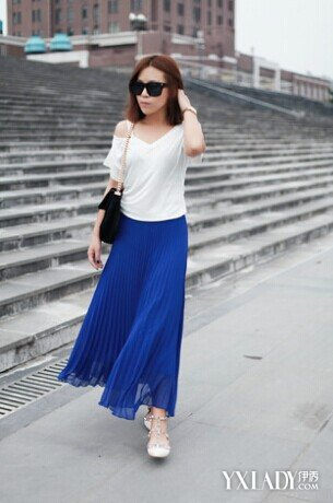 【图】蓝色裙子配什么颜色衣服好看 怎样才能