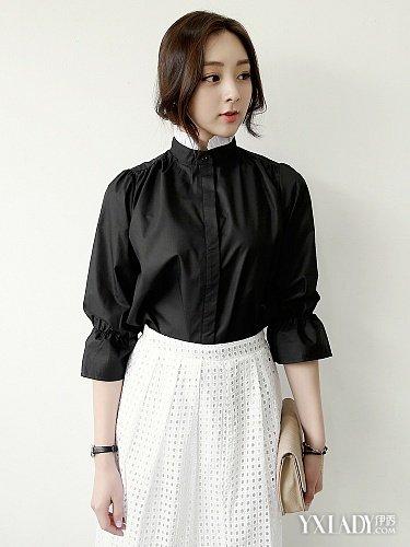【图】白裙子配什么上衣