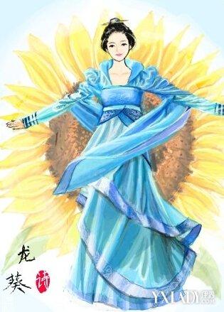 中国古代女子服饰大全 唯美中国风让人眼前一亮图片