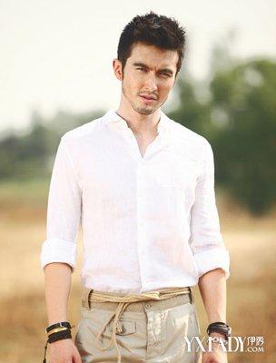 【图】男士白衬衫怎么搭配裤子