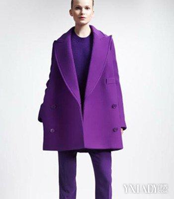 【图】紫色裤子配什么颜色上衣好看