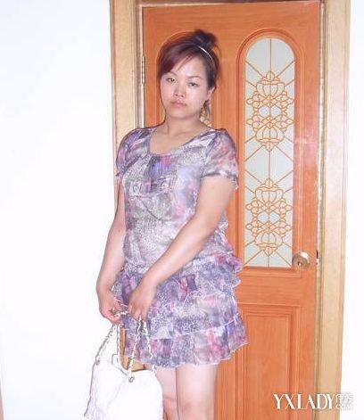 【图】高个子胖女生穿衣搭配